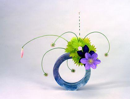 free style form, Ikenobo School, Ikebana: