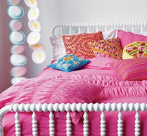 Twin White Jenny Lind Bed
