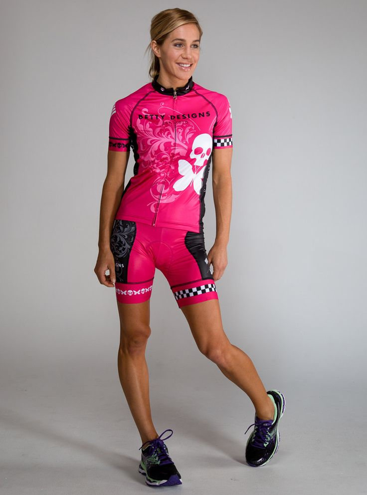 Betty Designs The Betty Womens Cycle Jersey