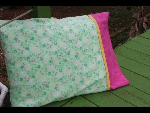 Make An Adorable Pillow Case With Only 3 Seams! – Crafty House