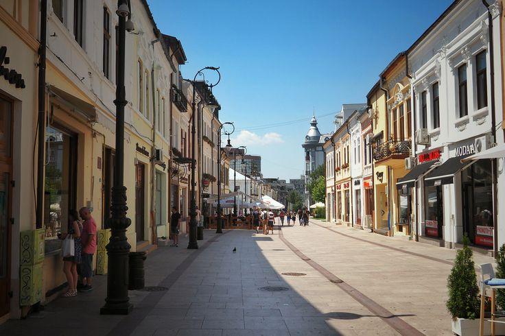 Craiova - Lipscani Street; Old City Centre