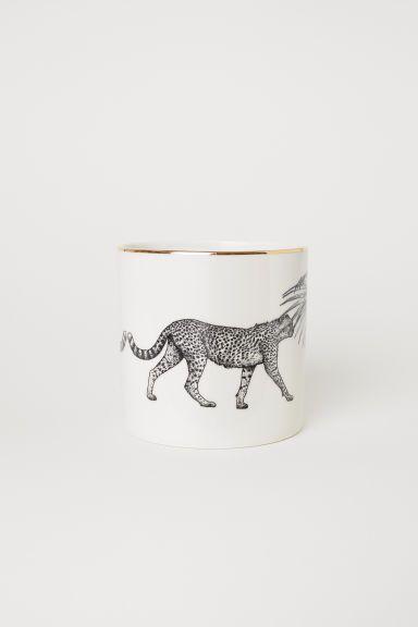 05d92aab150c Porcelain Plant Pot   NORTHSHORE   H&m home, Porcelain, Home ...