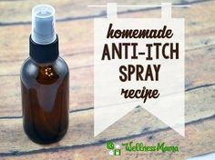 Homemade Anti-Itch Spray with Menthol & Aloe http://herbsandoilshub.com/homemade-anti-itch-spray-with-menthol-aloe/ Pretty simple anti-itch spray you can make at home. It's good for mosquito bites, sunburn, poison ivy etc.