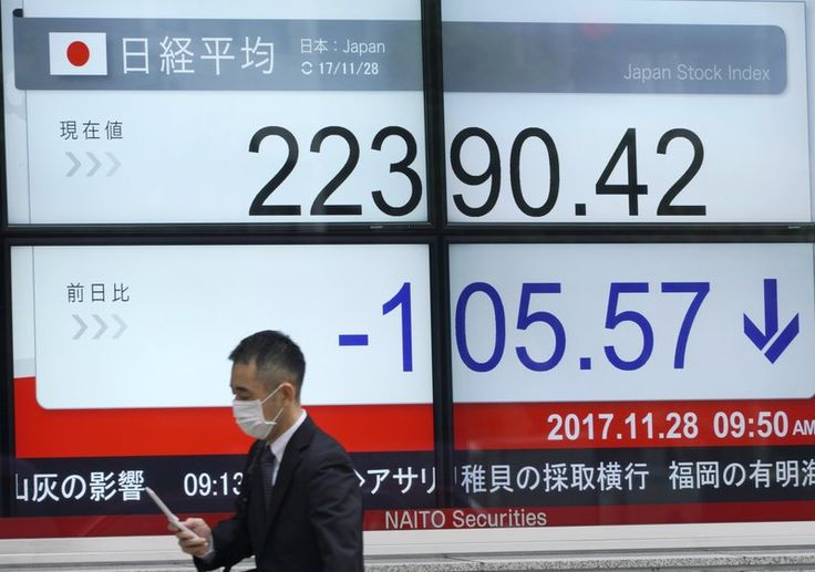 My AP Story today https://www.apnews.com/5040a63db8374d959c6c407ffaa2564b/Asian-shares-mostly-lower-after-sluggish-Wall-Street-session