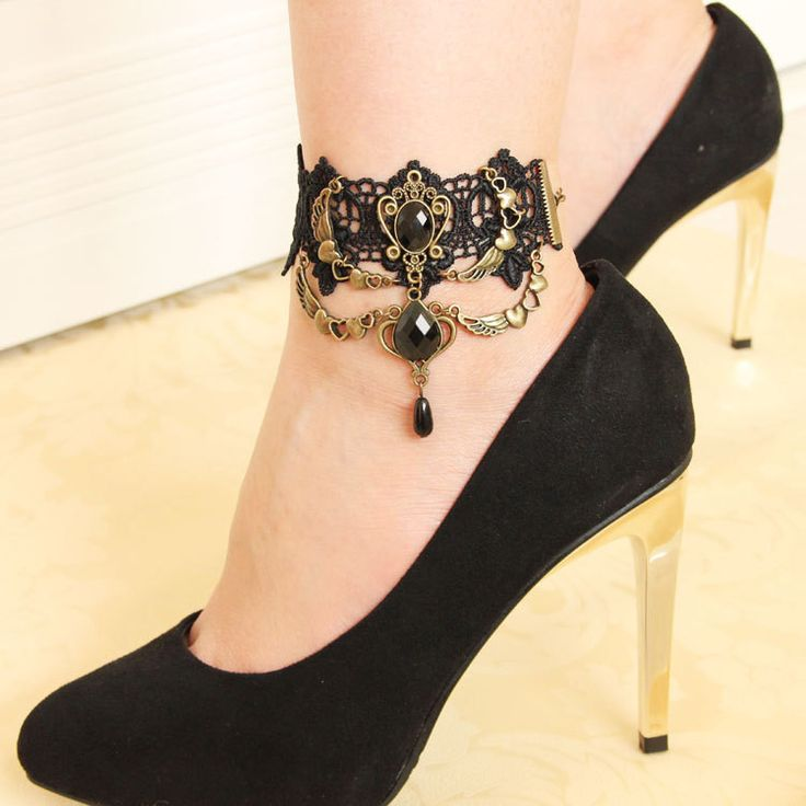 Available Now on our store:  Gothic handmade b... Check it out here ! http://mamirsexpress.com/products/gothic-handmade-black-vintage-lace-womens-anklets-diy-belt-gift-women-accessories-gothic-party-jewelry?utm_campaign=social_autopilot&utm_source=pin&utm_medium=pin
