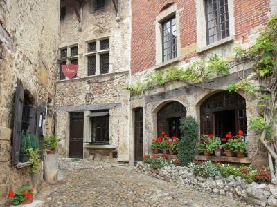 Questa incantevole città medievale è rinomata per la sua fioritura - Acciambellata sulle rive di un fiume tranquillo, nel cuore della Dombes, l'incantevole…