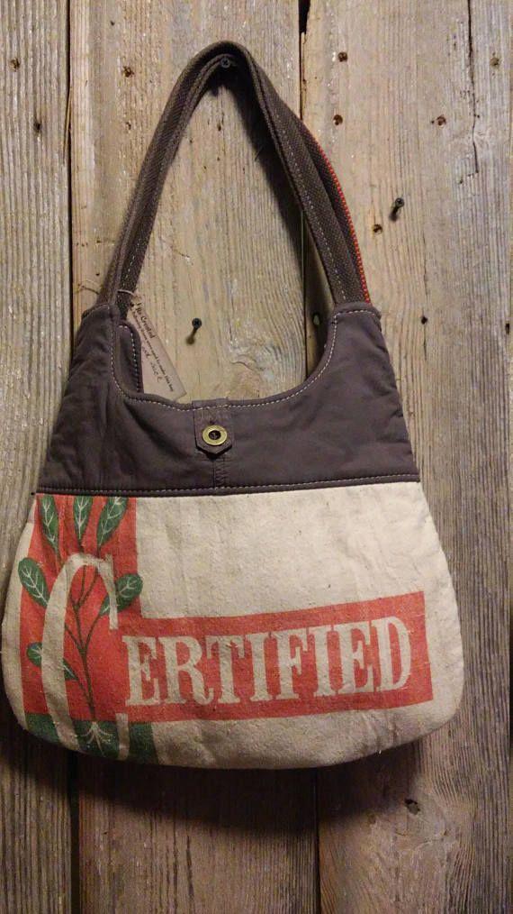 Vintage Certified Ranger Alfalfa Seed sack  upcycled