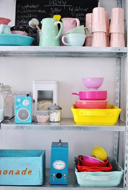 open shelving #kitchen