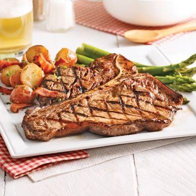 T-bones, sauce barbecue fumée - Recettes - Cuisine et nutrition - Pratico Pratique