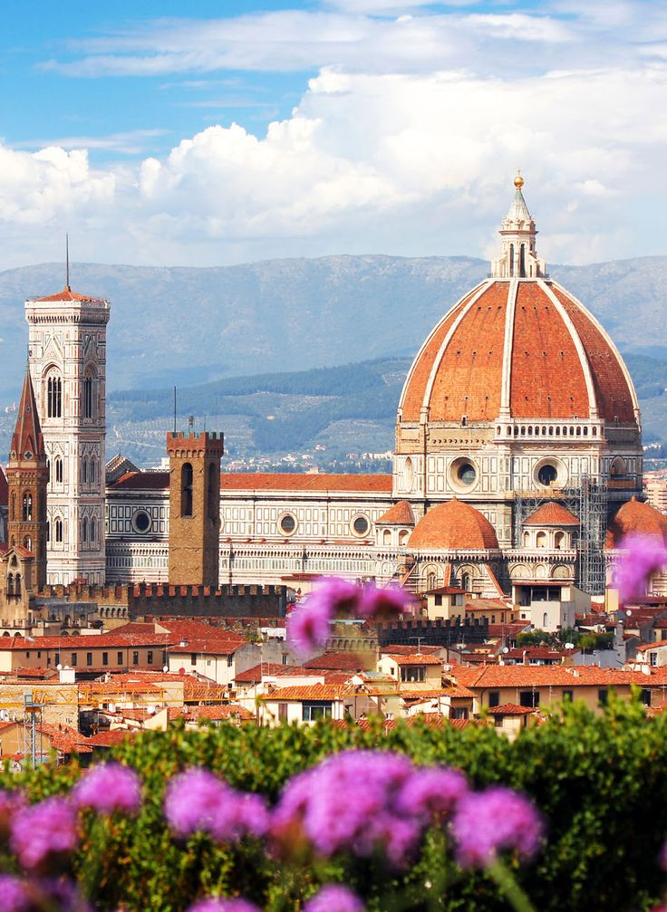 Florence in spring time