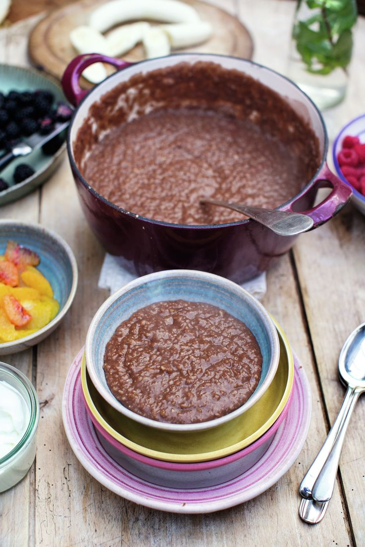 Chocolate Porridge | Jamie Oliver | Family Super Food