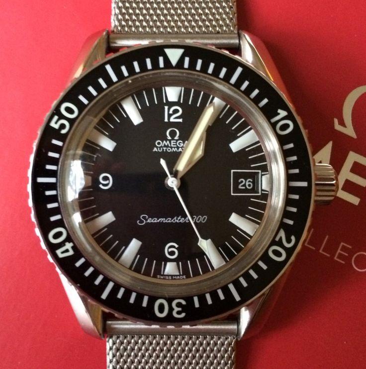 Vintage OMEGA Seamaster 300 Diver On Mesh Bracelet Circa 1960s - http://omegaforums.net