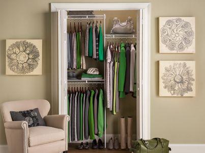 3 5 Foot Closet Kit Closet Organizing Pinterest Closet