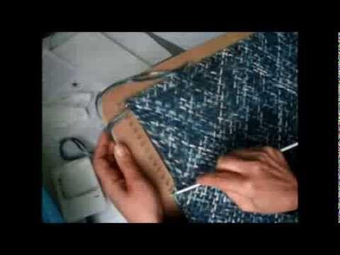 Telar bastidor : Chaleco (chaquetita). Parte 2