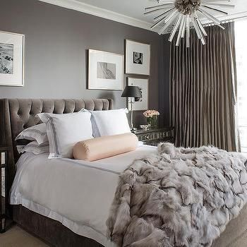 Gray and Pink Bedroom   Transitional   bedroom   Benjamin Moore White Dove    Veranda. Best 25  Transitional bedroom ideas on Pinterest   Transitional