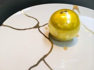 Dessert from Xavier Boyer at London L'Atelier
