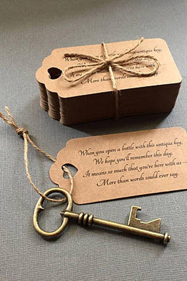 Wedding Favors For Guests Skeleton Key Bottle Openers Poem Thank You Key Bottle Opener Wedding Favor Wedding Bottle Opener Favors Vintage Wedding Favors