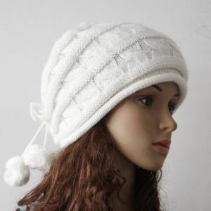 Women Korea Beanie Hat Beret Knit Ski Snow Cap Hat