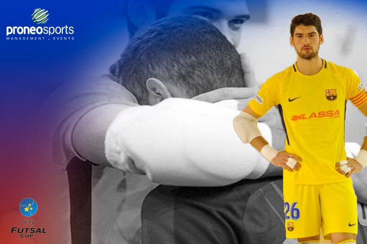 Miquel Feixas con tant solo 18 años ya forma parte de la expedición del FC Barcelona de Futsal para la disputa de la Ronda Elite de la Uefa Futsal Cup