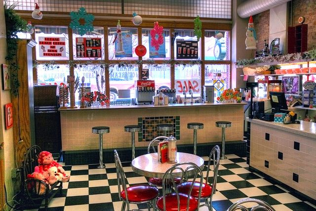 Old Drug Store Soda Fountain | Soda Fountain | Flickr - Photo Sharing!