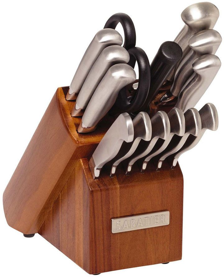 SABATIER Sabatier 15-pc. Stainless Steel Knife Set