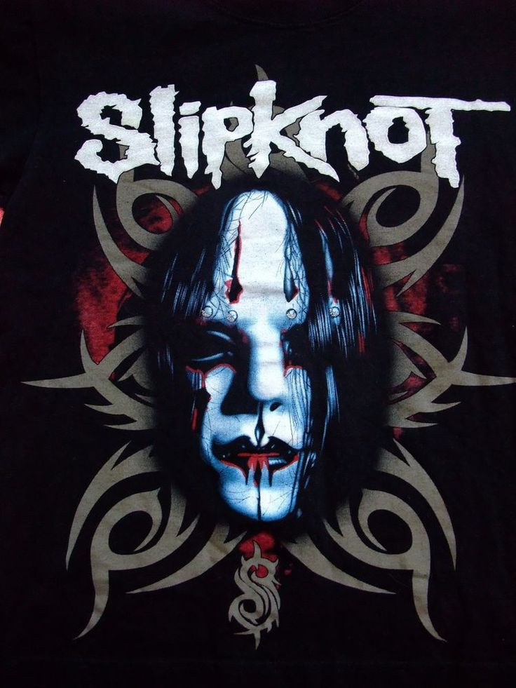 SLIPKNOT shirt Small Corey Taylor Stone Sour  HARD/HEAVY ROCK #REO #GraphicTee