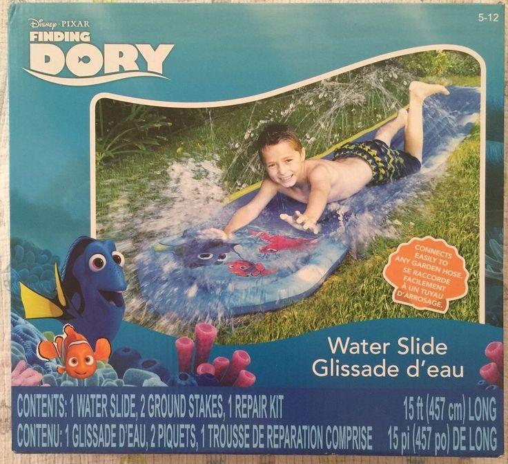 Finding Dory Disney Water Slide Summer Outdoor Kids Fun Game Birthday Party | eBay