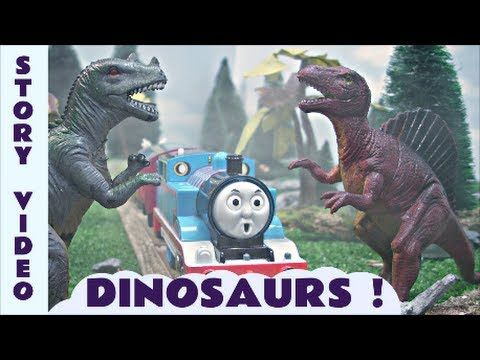 Thomas And Friends How Strong Is Gordon Toy Train Story With Dinosaurs For Kids Children Tt4u
