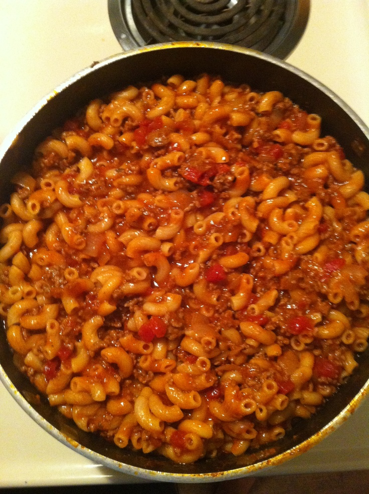 Finally made the Goulash recipe I posted, yummy!!!
