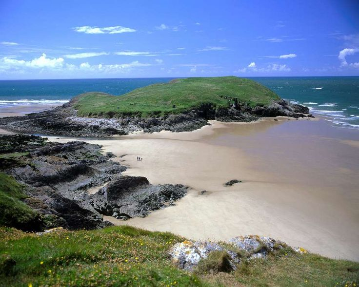 Llangennith Beach, Swansea, South Wales, UK - inspiration for Draco and Hermione's honeymoon location.