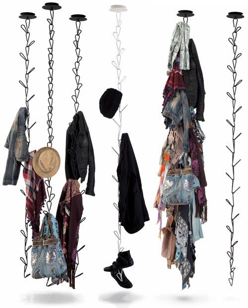25+ Best Ideas About Hanging Clothes On Pinterest
