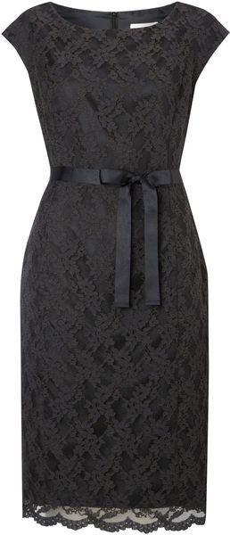 Lace Shift Dress - Lyst