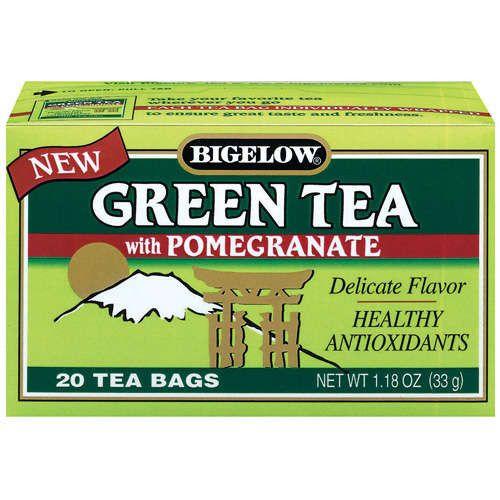 Bigelow Green Tea W Pomegranate (6x20BAG)