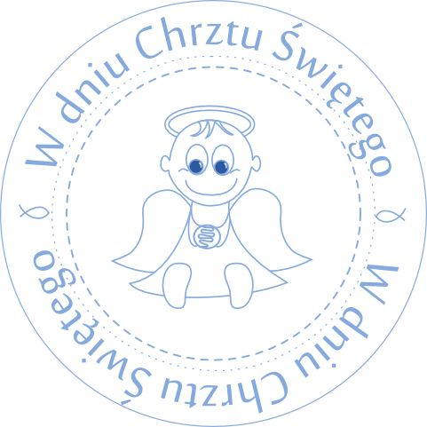 Kartki Free Ideas: Freebies Baptism Stamps for girls and boys / Stemp...