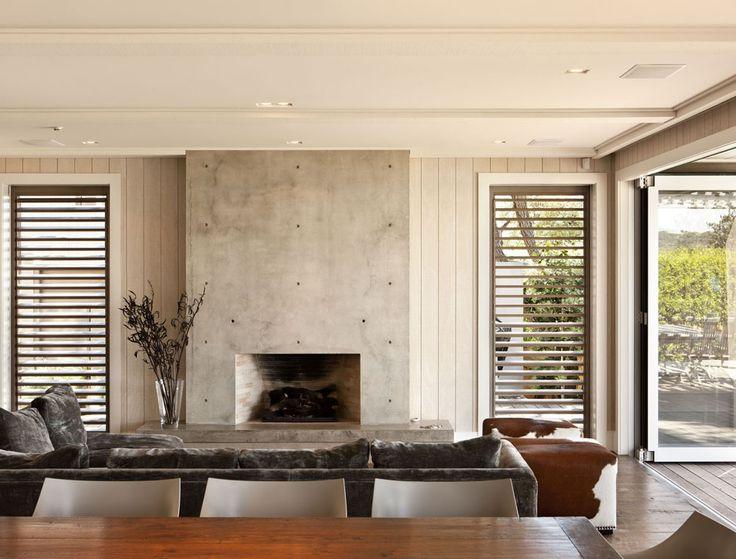 Sumich Chaplin. Simple FireplaceBeach HousesHouse ...