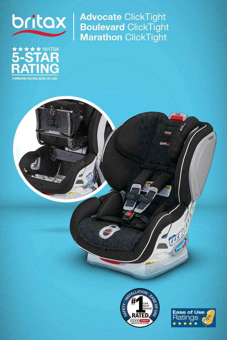 Did you know that all of our clicktight convertible car seats earned 5 star nhtsa ratings