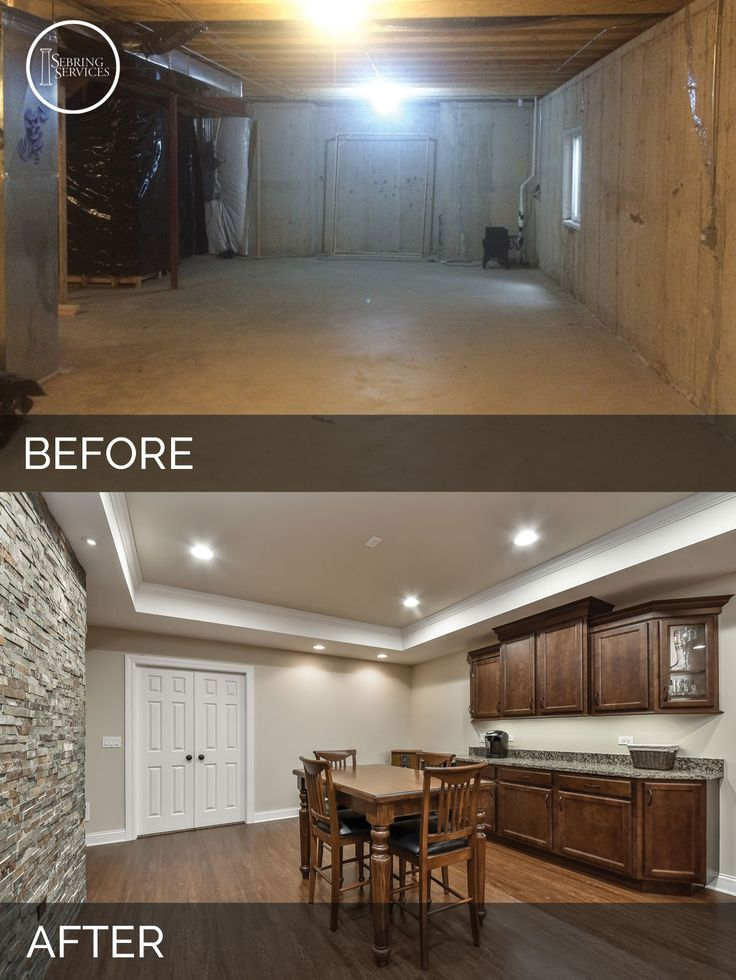 72 Best Before & After: Finished Basement Projects Images