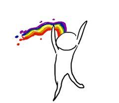 Image result for vomitar arco iris tattoo