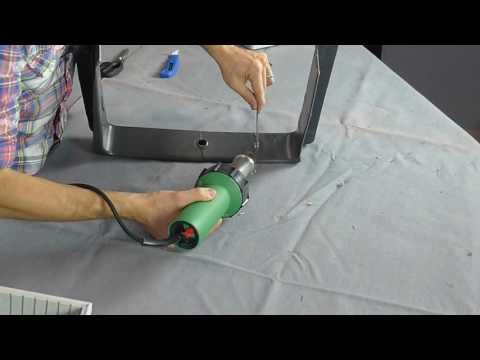 How to weld plastic - Plastic Welding Instructional Video - YouTube