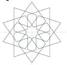 Image result for how to draw simple islamic patterns