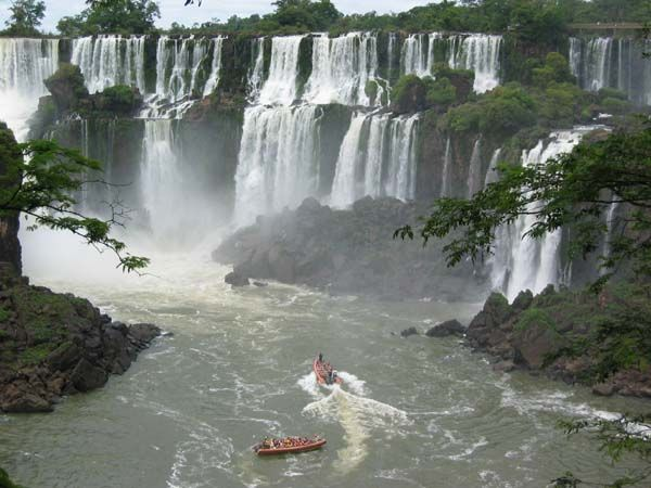Iguazu Falls in Puerto Iquzu,Argentina