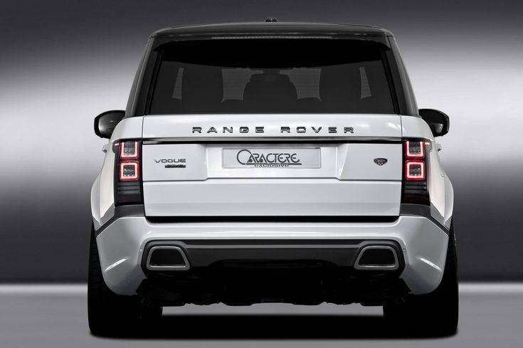 Official: Caractere Exclusive Range Rover - GTspirit