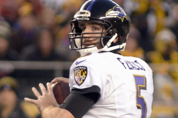 CINCINNATI -- Joe Flacco passed for 121 yards and a touchdown and the Baltimore Ravens' defense forced five turnovers in a 20-0 victory…