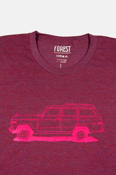 Wagoneer por Forest  http://followtheforest.com/poleras/214-camioneta-ford-1950-por-forest.html