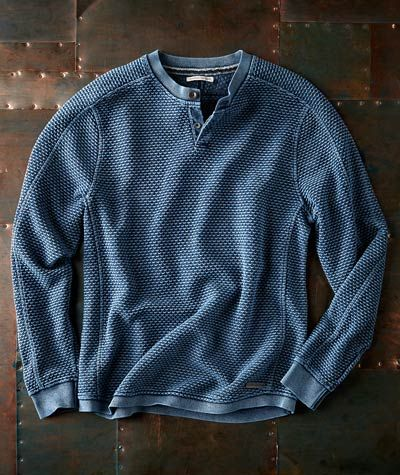 Effortlessly Cool Men's Pullovers - Mistral Pullover - Carbon2Cobalt