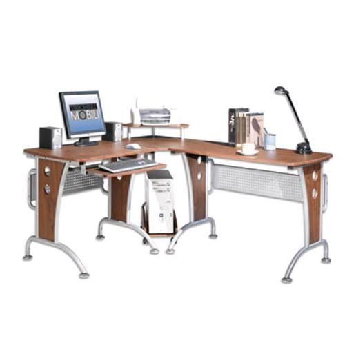 Ufficio : Oem scrivania per computer angolare ciliegio