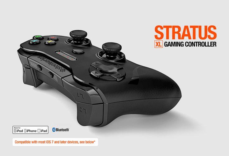 SteelSeries - North America - Gaming Controllers - SteelSeries Stratus XL Wireless Gaming Controller