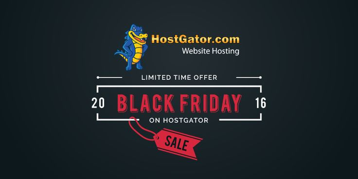 Find out the best discount offers on hostgator web hosting servers on Black Friday Sale 2017