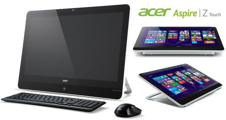 "Acer 21.5"" All-in-One Touchscreen Desktop with Intel Quad-Core, 4GB RAM, 1TB Hard Drive, Wi-Fi, Harman/Kardon Stereo Speaker, Windows 8"