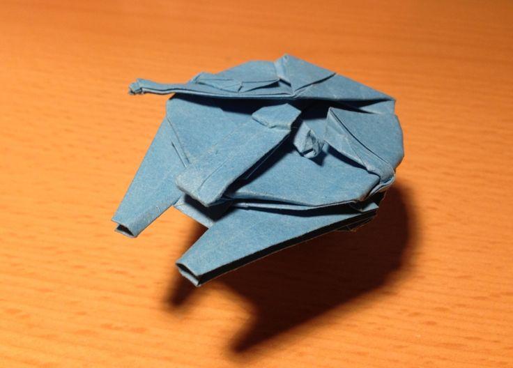 star trek origami instructions